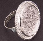 Ring Cabochon 20 mm - case